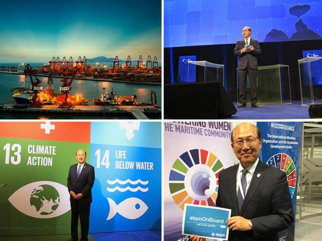 "IMO Secretary-General Marks The Keypoints On ""Sustainable And Balanced"" Development"