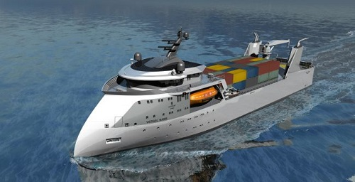 Ulstein Introduces X-BOW With Compact Concept On RoPax Designs.