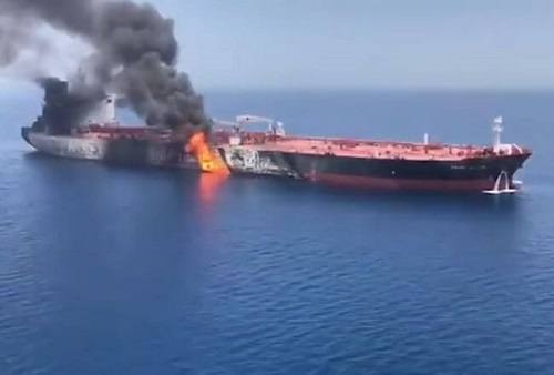 Frontline Updates 23 Crew Members Onboard 'Front Altair' Rescued Unharmed From Explosion