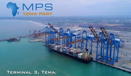 APM Terminals Docked First Vessel At Tema Port For Training