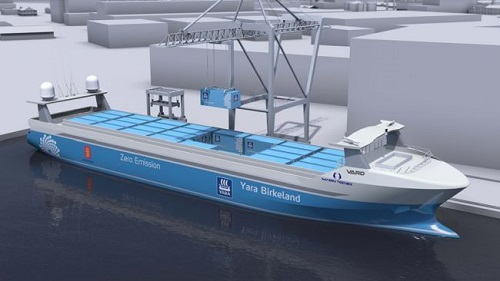 MacGregor To Deliver World's First Autonomous & Zero-Emission Container Ship