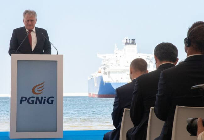 First Cargo Of LNG Arrives In Poland Under Long-Term Agreement Between PGNiG And Cheniere