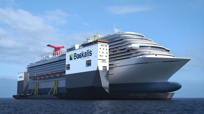 Boskalis To Perform Lifting And Loading Operation Of Cruise Ship 'Carnival Vista'