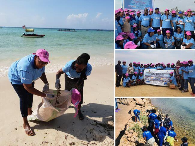 Beach Clean Up Exercised To Raise Awareness About Marine Litter