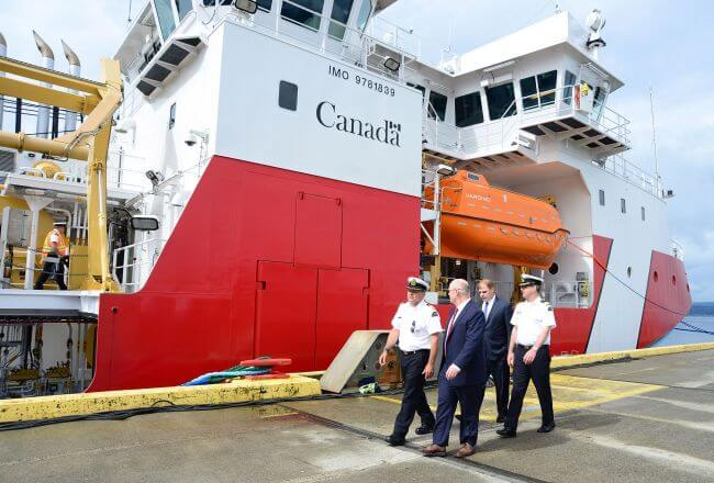 Seaspan Delivers Offshore Fisheries Science Vessel(OFSV) To Government Of Canada