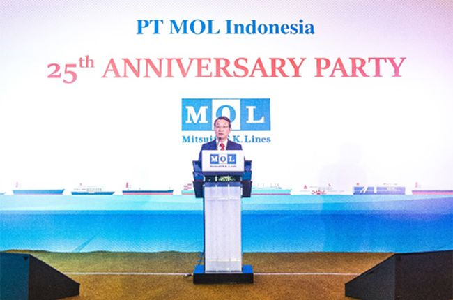 MOL Celebrates Its 25th Anniversary Of Business In Indonesia