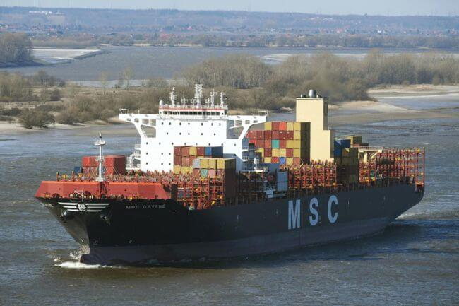 MSC Gayane Remains Under US Authorities But MSC is Not The Target Of Investigation