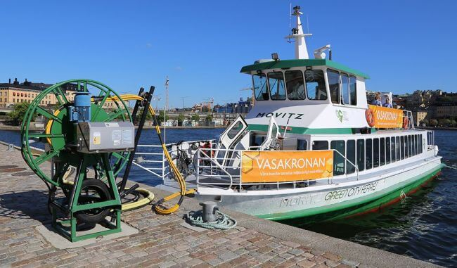 Vattenfall And Echandia Marine Develops Solution For Electric Ferries With Minimal Emissions