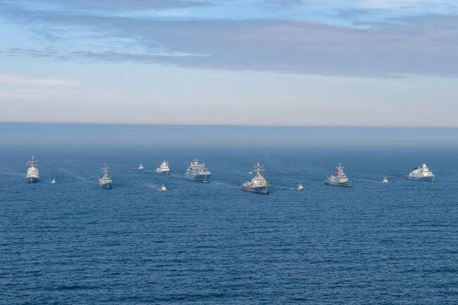US Leads NATO Maritime Group Serving As First Responder In Northern Europe