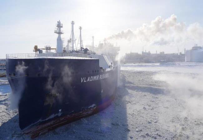 "NOVATEK Announces LNGC ""Vladimir Rusanov"" Completes Northern Sea Route 2019 Passage"