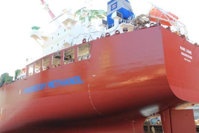 Marinvest Announces Its Twin Tankers Operating On Methanol Passes 10000 Operating Hours