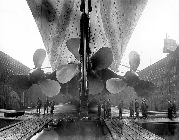 Titanic's Propeller