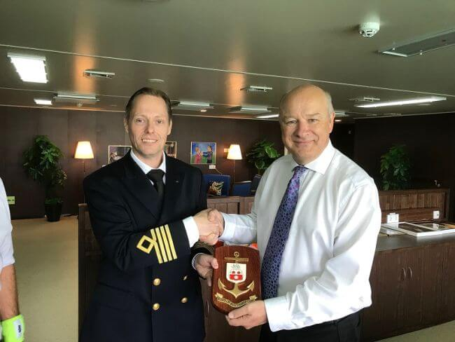 Port Of Southampton Welcomes High Efficient RoRo Vessels