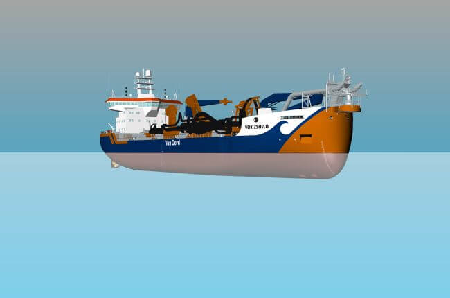 Van Oord Orders Third Suction Hopper Dredging Fleet