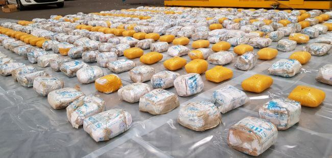 Heroin Seizure Worth £40m Suspected From Vessel Docked In Felixstowe By NCA Intelligence