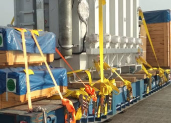 Höegh Autoliners Loads 100 Breakbulk Units From 2 Load Ports To 1 Destination