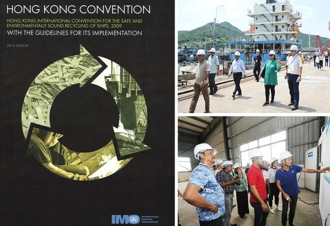 IMO Shares Eco-Friendly Ship Recycling Knowledge Ensuring Hong Kong Convention