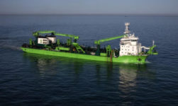 "DEME's New Dredger ""Bonny River"" Driven By Schottel Propulsion Solutions"