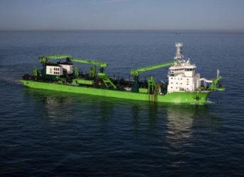 "DEME's New Dredger ""Bonny River"" Driven By Schottel Propulsion Solutions"
