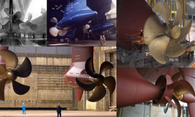 Largest Ship Propellers In The World
