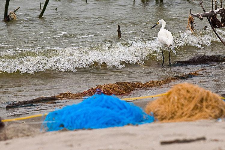 Sorbents for Oil Spills: Oil absorbing poms poms