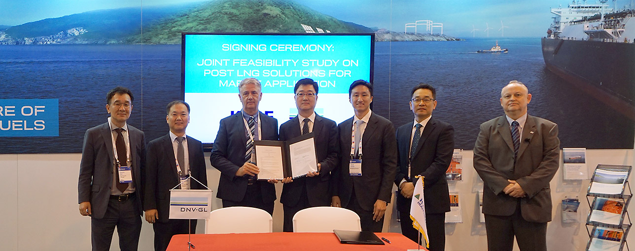 KSOE And DNV GL Sign MoU To Develop Low And Zero Carbon Shipping Solutions