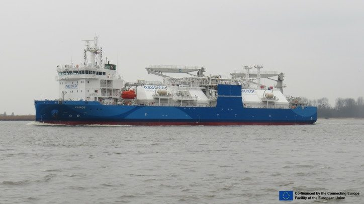 NEOT Becomes First Company In Port Of Södertälje To Receive LNG From BSV