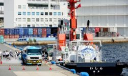 MOL's LNG-Fueled Tugboat Ishin Undergoes First LNG Bunkering Trial 6