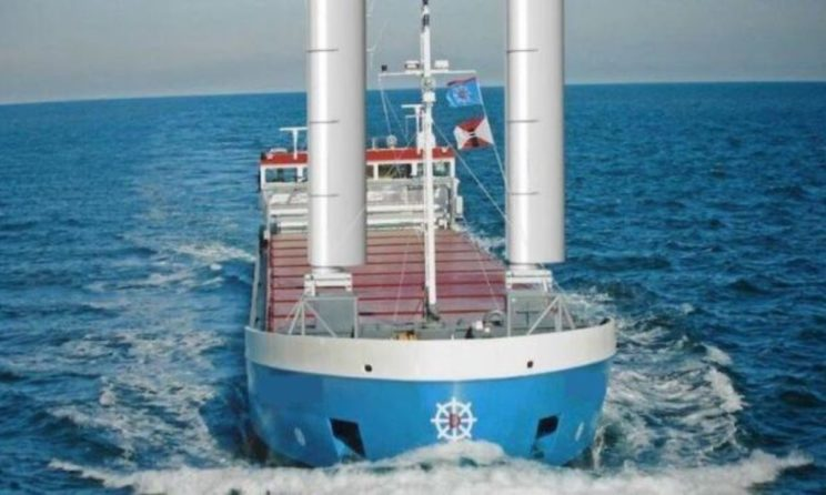 Van Dam To Install Latest Wind-Assist Propulsion Ventifoil System From eConowind BV