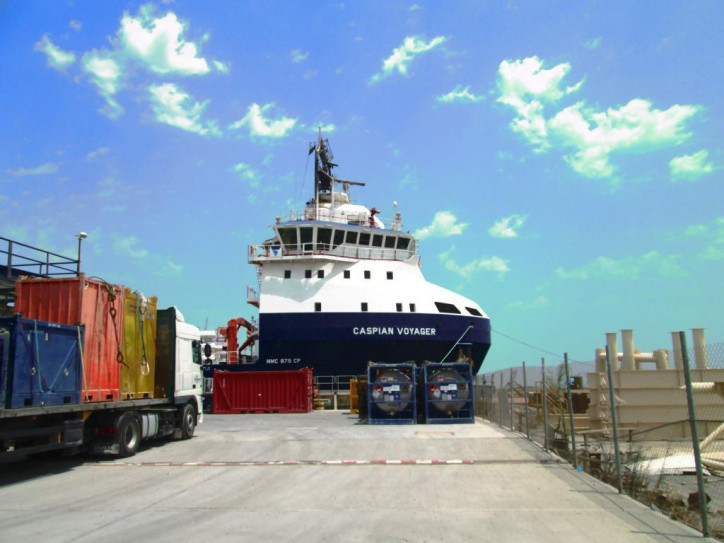Topaz Caspian Voyager Enters Extended Dry-Docking Scheme With ABS