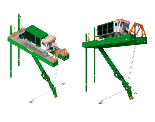 Dredge Yard Signs Contract For Customized Cutter Dredger ECO 300