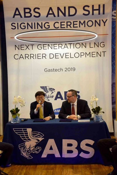 ABS And Samsung Heavy Industries Sign Digital Technology