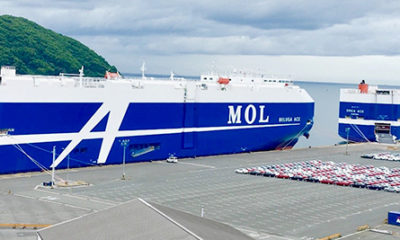 MOL Group Successfully Develops Car Carrier Allocation/Loading Plan With AI