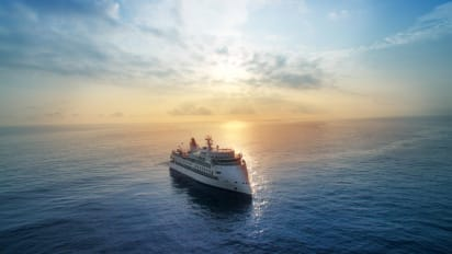 World's First X-Bow Cruise Ship To Set Off For First Antarctic Expedition