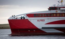 Pentland Ferries New Ship Arrives To Deliver Most Environmentally-Friendly Ferry Service