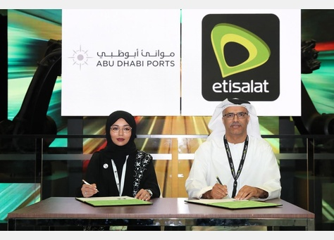 Abu Dhabi Ports And Etisalat Partner To Boost Digital Innovation