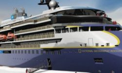 Lindblad & Ulstein Celebrates Keel Laying Of Second Polar Cruise Vessel