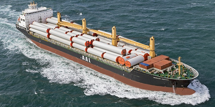 AAL Strengthens Global Presence & Offering With Additional 133000 DWT Of MPV Tonnage