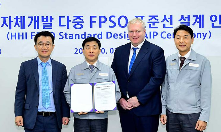 DNV GL Awards AiP Certificates To HHI For Three Types Of Standard Mid-Sized FPSOs