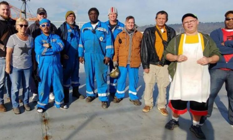 MARAD To Award Crew That Rescued 7 Seafarers From Burning Car Carrier