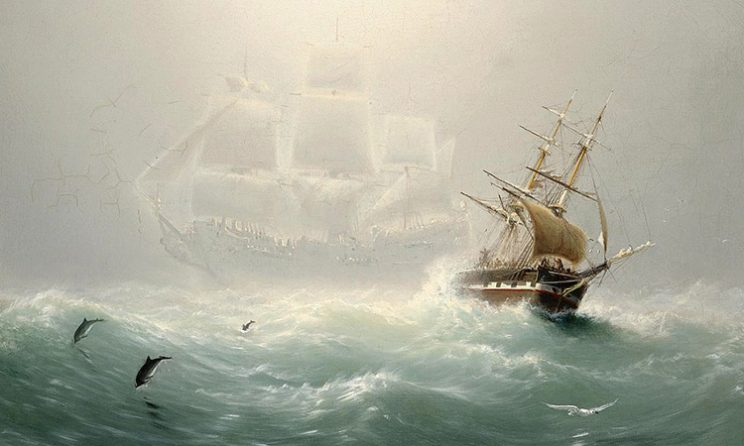 Legend Of The Flying Dutchman: The Flying Dutchman by Charles Temple Dix