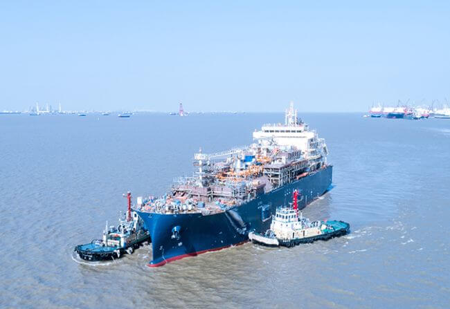 Total Launches First LNG Bunker Vessel Following Contract With MOL