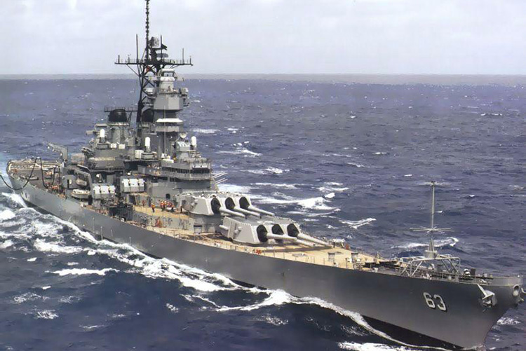 Battleship U.S.S. Missouri