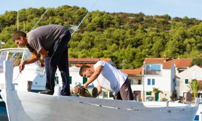 Role of a boat mechanic