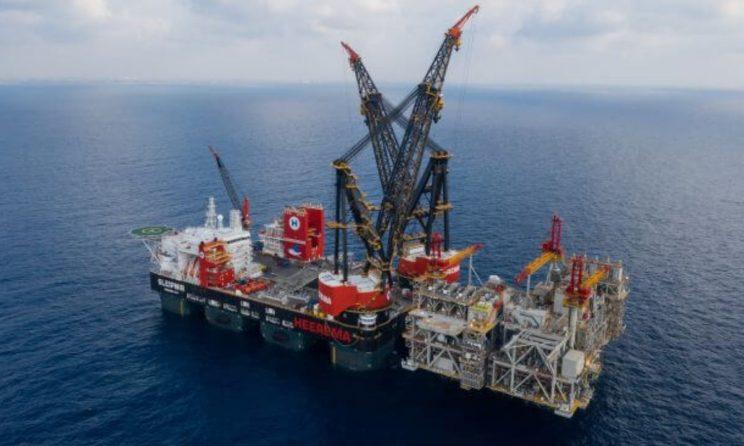 GE's Electric Technology Powers The World's Largest Crane Vessel 'Sleipnir' 1