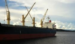 Eagle Bulk Shipping Takes Delivery Of Ultramax Dry Bulk M/V Santos Eagle