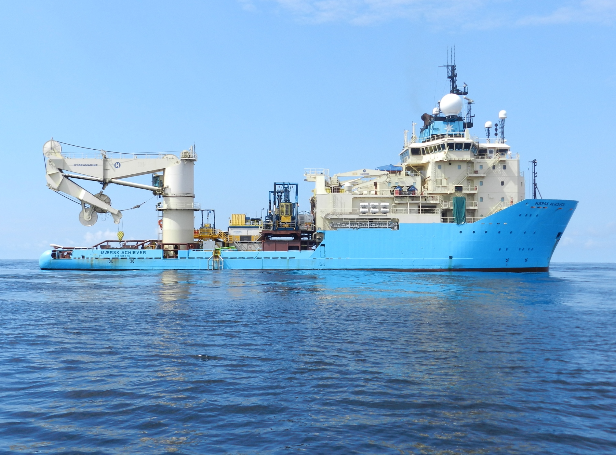 Maersk Supply Service Wins Integrated Solutions For Shell's Project In Brazil
