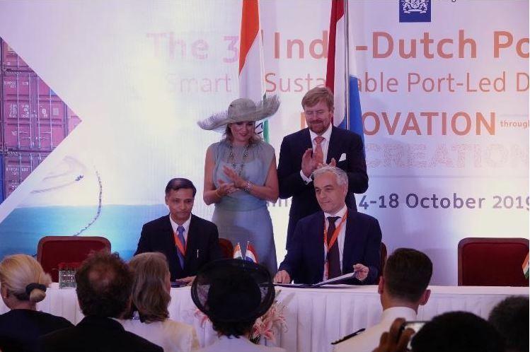 Port Of Rotterdam Authority Intensifies Activities In India