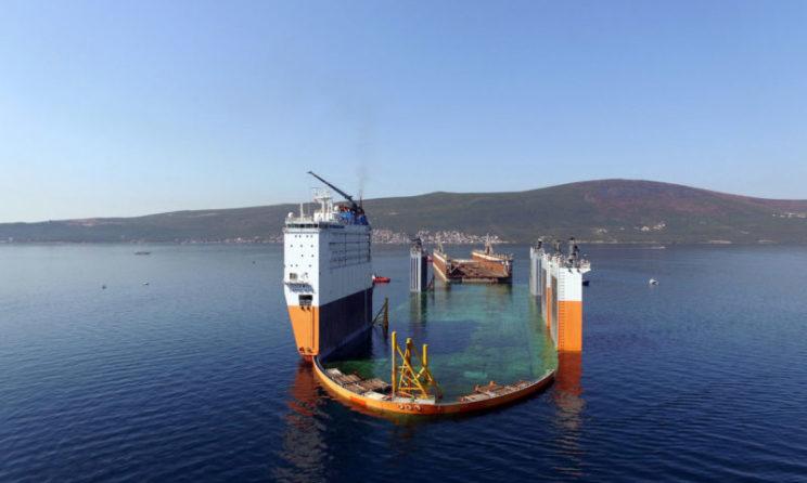 BLRT Grupp Completes Modernization Of The Largest Floating Dock In Baltic Region