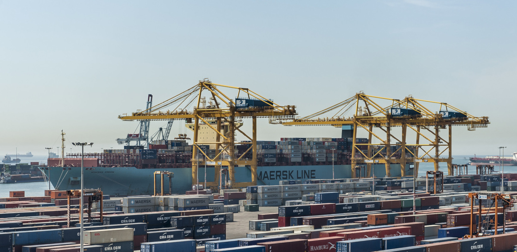 APM Terminals Barcelona Unveils New 5G Technology In Crane Communication Systems 1